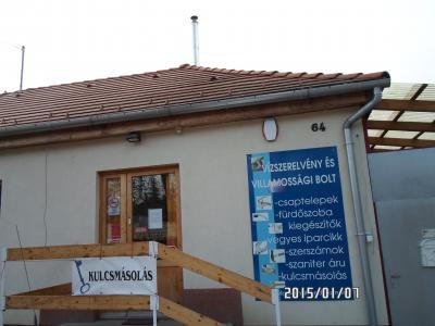 Vízszerelvény bolt Pécs, Táncsics utca