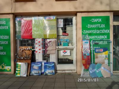 Vízszerelvény bolt Pécs, Éva utca
