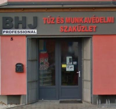 BHJ Tűzvédelmi szaküzlet Sopron