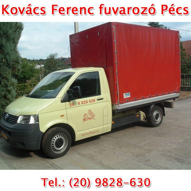 Kovács Ferenc fuvarozó Pécs
