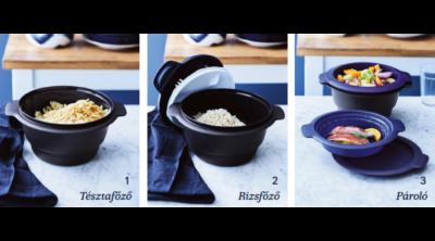 Tupper tésztafőző, rizsfőző, pároló