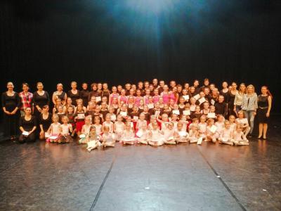 Stúdiónk táncosai a Vörösmarty Színházban