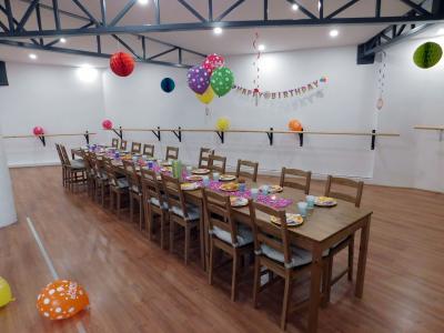 Születésnap a stúdióban - terembérlés