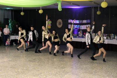Táncosaink külső helyszíni fellépésen