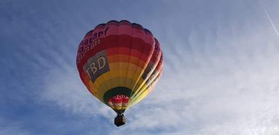 hőlégballon Sopron fölött