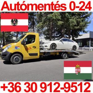 autómentés Ausztria