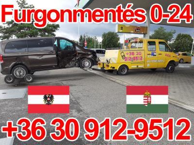 furgonmentés Ausztria